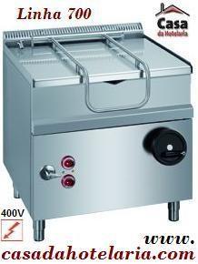 Fritadeira Basculante Eléctrica de 50 Litros - Versão Composta - Linha 700 - Refª 100125