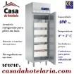 Armário Refrigerado Industrial para Peixe em Inox de 400 Litros, Temp. 0º + 5º C (transporte incluído) - Refª 100194