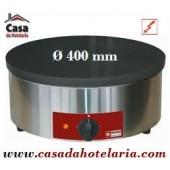 Máquina de Fazer Crepes Industrial Eléctrica de Ø 400 mm - Crepeira - Refª101287