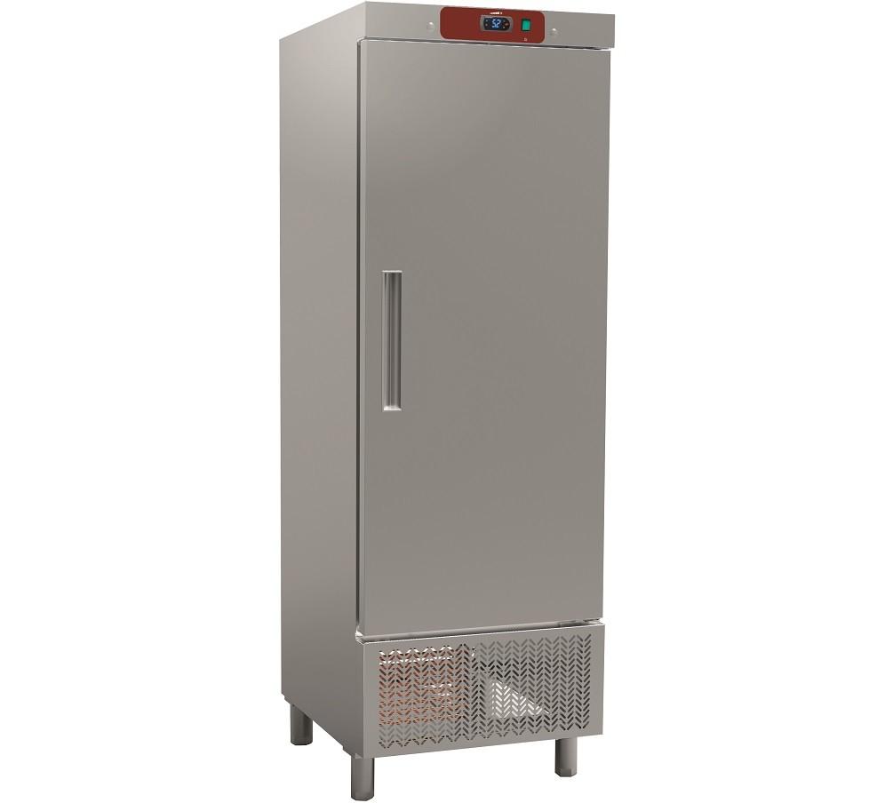 Armário Refrigerado Ventilado em Aço Inoxidável, Frigorífico Industrial de 550 Litros, Refrigeração de 0º + 8º C (transporte incluído) - Refº 101343