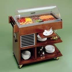 Carro Refrigerado para Sobremesas (transporte incluído) - Refª 101083