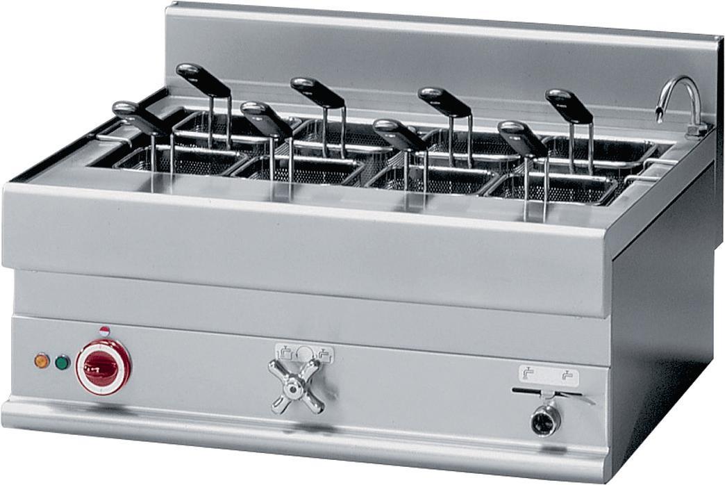 Cozedor de Massa Industrial Eléctrico Trifásico com Capacidade para 40 Litros, 9000 Watts, Linha 650 (transporte incluído) - Refª 100040