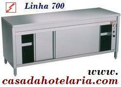 Armário Ventilado Aquecido de 1,2 m da Linha 700 (transporte incluído) - Refª 100165