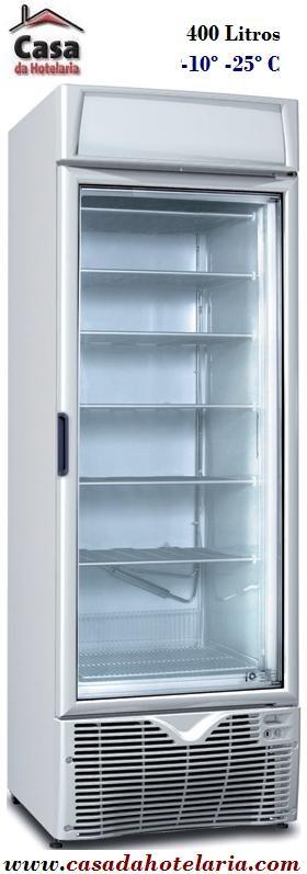 Armário Expositor de Congelação de 400 Litros (transporte incluído) - Refª 100221