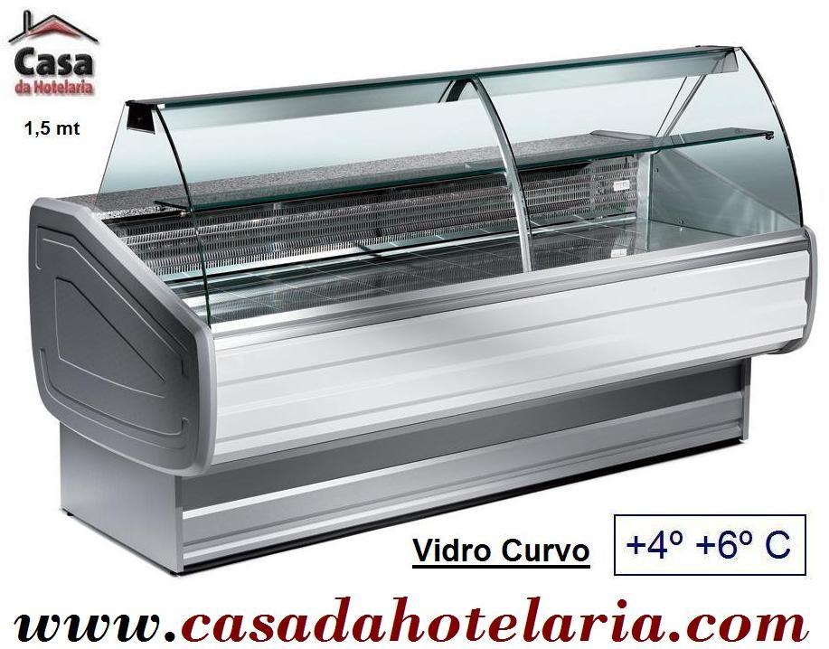Balcão Refrigerado com 1,5 m e Compartimento de Reserva de 252 Litros (transporte incluído) - Refª 100311