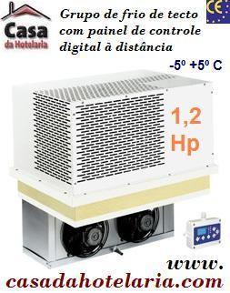 Grupo de Frio de Tecto -5º +5º C com 1,2 de Hp (transporte incluído) - Refª 100334