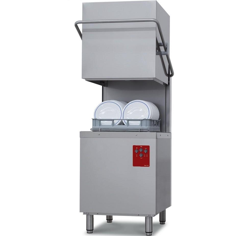 Máquina de Lavar Louça Industrial de Campânula, Cestos de 500x500 mm (transporte incluído) - Refª 100339