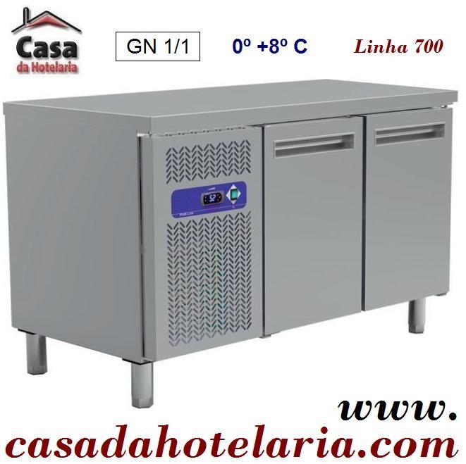 Bancada Refrigerada GN 1/1 de 260 Litros da Linha 700 (transporte incluído) - Refª 101451