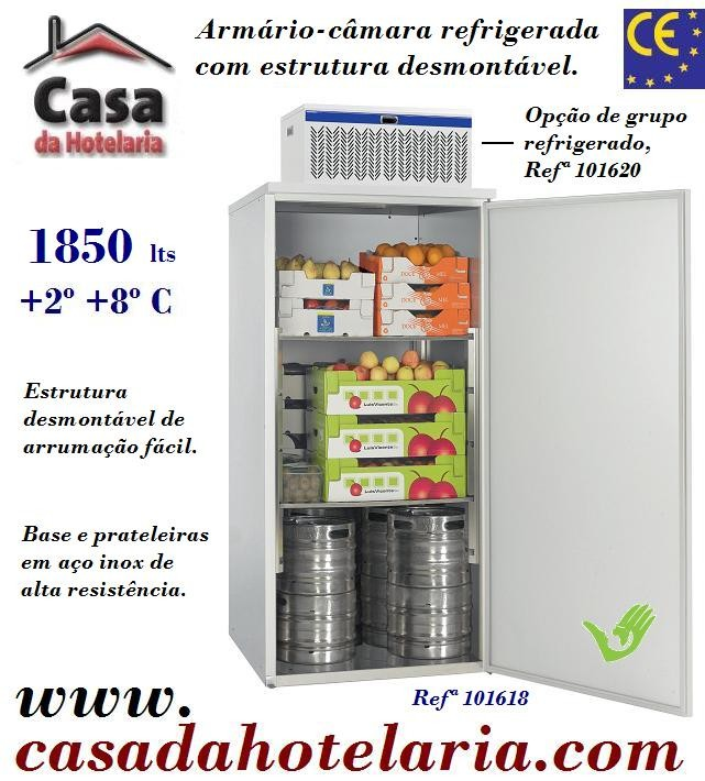 Armário-Câmara Refrigerada Desmontável, 1850 Litros (transporte incluído) - Refª 101618