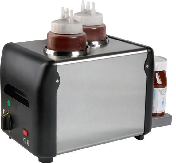 Aquecedor de Chocolate Monofásico de 2 Litros (2x 1 Lt), Temperatura 0º a +90º C (transporte incluído) - Refª 101718