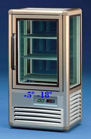 Vitrina de Congelação para Pastelaria de 120 Litros (transporte incluído) - Refª 101256