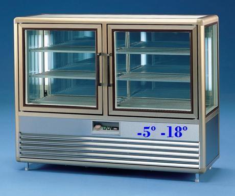 Vitrina de Congelação para Pastelaria de 500 Litros (transporte incluído) - Refª 101251