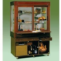 Móvel Expositor Refrigerado de 2,0 m (transporte incluído) - Refª 101074