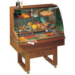 Expositor Refrigerado com Buffet 4x GN 1/1 de 150 mm (transporte incluído) - Refª 101077