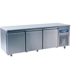Bancada Refrigerada, 550 Lts para Pastelaria com Topo em Granito (transporte incluído) - Refª 100351