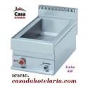 Banho-Maria Industrial Eléctrico Monofásico GN 1/1 para Cubas até 150 mm de Profundidade, 1500 Watts, Linha 650 (transporte incluído) - Refª 100037