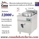 Marmita Industrial Eléctrica de Aquecimento Indirecto de 85 Litros da Linha 900 (transporte incluído) - Refª 100324