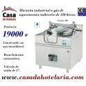 Marmita Industrial a Gás de Aquecimento Indirecto de 150 Litros da Linha 900 (transporte incluído) - Refª 100343