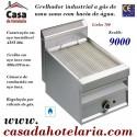 Grelhador Industrial a Gás com Bacia de Água de 1 Zona da Linha 700 (transporte incluído) - Refª 100381