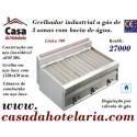Grelhador Industrial a Gás com Bacia de Água e 3 Zonas Independentes da Linha 700 (transporte incluído) - Refª 100383