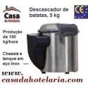 Descascador de Batatas Automático Industrial com Capacidade para 5 Kg, Produção de 150 kg/hora (transporte incluído) - Refª 100531