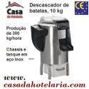 Descascador de Batatas Automático Industrial com Capacidade para 10 Kg, Produção de 300 kg/hora (transporte incluído) - Refª 100532