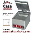 Máquina de Vácuo Monofásica Profissional 8 m3/h, Câmara com 280x310x85 mm (LxPxA) (transporte incluído) - Refª 100550