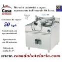 Marmita Industrial de Aquecimento a Vapor com Caldeira de 100 Litros da Linha 900 (transporte incluído) - Refª 100881