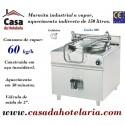 Marmita Industrial de Aquecimento a Vapor com Caldeira de 150 Litros da Linha 900 (transporte incluído) - Refª 100941