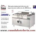 Marmita Industrial Eléctrica de Aquecimento Indirecto de 300 Litros da Linha 900 (transporte incluído) - Refª 100960