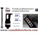 Varinha Misturadora Profissional com Acelerador, 230 Litros, cano de 500 mm, 650 Watts (transporte incluído) - Refª 101137