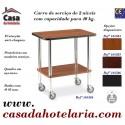 Carro de Serviço de 2 Níveis com Capacidade para 40 kg (transporte incluído) - Refª 101584