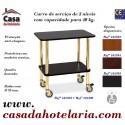 Carro de Serviço de 2 Níveis com Capacidade para 40 kg (transporte incluído) - Refª 101595