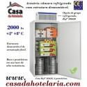 Armário-Câmara Refrigerada Desmontável, 2000 Litros (transporte incluído) - Refª 101619