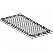Placa Canelada para 2 Queimadores (transporte incluído) - Refª 100746