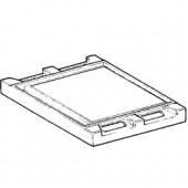 Placa Lisa para 1 Queimador (transporte incluído) - Refª 100736