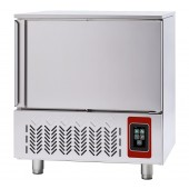 Abatedor de Temperatura Industrial de Ultracongelação 5x GN 1/1 ou 5x 600x400 mm, Controle Táctil, +70º +3º C para 18 kg; +70º -18º C para 12 kg (transporte incluído) - Refª 101893