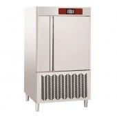 Abatedor de Temperatura Industrial de Ultracongelação 10x GN 2/1 ou 20x 600x400 mm, Controle Táctil, +70º +3º C para 75 kg; +70º -18º C para 50 kg (transporte incluído) - Refª 102639