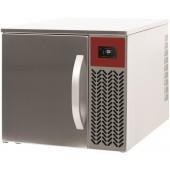 Abatedor de Temperatura Industrial Ultracongelador 3 Níveis GN 1/1, +70º +3º C para 8 kg ou +70º -18º C para 5 kg (transporte incluído) - Refª 101708