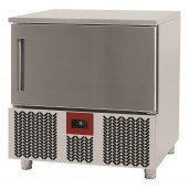 Abatedor de Temperatura Industrial Ultracongelador 5x GN 1/1 ou 5x 600x400 mm, +70º +3º C para 12 kg ou +70º -18º C para 8 kg (transporte incluído) - Refª 101707