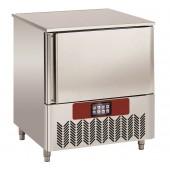 Abatedor de Temperatura Industrial de Ultracongelação 5x GN 1/1 ou 5x 600x400 mm, Controle Digital, +70º +3º C para 20 kg; +70º -18º C para 12 kg (transporte incluído) - Refª 102637