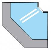 Balcão de Ângulo Fechado de 90º (transporte incluído) - Refª 100995