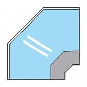 Balcão de Ângulo Aberto de 90º (transporte incluído) - Refª 100996