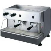 Máquina de Café Expresso Semi-Automática Profissional com 2 Grupos, Potência de 2900 Watts (transporte incluído) - Refª 100076