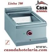 Bacia de Aquecimento Industrial Monofásica para Batatas Fritas da Linha 700, +30º +90º C (transporte incluído) - Refª 100129