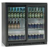 Armário Refrigerado para Garrafas Ventilado com 2 Portas Deslizantes de Correr, 191 Litros, Temperatura +2º +10º C (transporte incluído) - Refª 100161