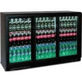 Armário Refrigerado para Garrafas Ventilado com 3 Portas Deslizantes de Correr, 300 Litros, Temperatura +2º +10º C (transporte incluído) - Refª 100162