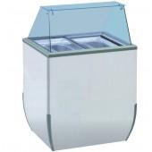 Expositor de Gelados de 170 Litros, Ideal para 4 cubas, Temperatura de -10º -18º C (transporte incluído) - Refª 100164