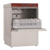 Máquina de Lavar Louça Industrial Monofásica Profissional para Copos e Pequenos Pratos com Cestos de 400x400 mm (transporte incluído) - Refª 100169