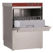 Máquina de Lavar Louça Industrial Monofásica Profissional para Copos e Pratos com Cestos de 450x450 mm (transporte incluído) - Refª 100212